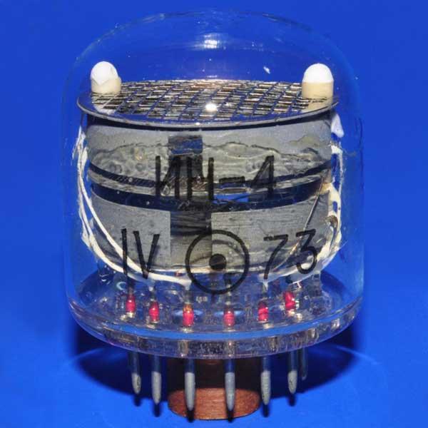 لامپ نیکسی IN-4 NIXIE TUBE